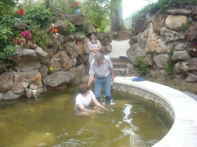Baptême le 24 mai 2015