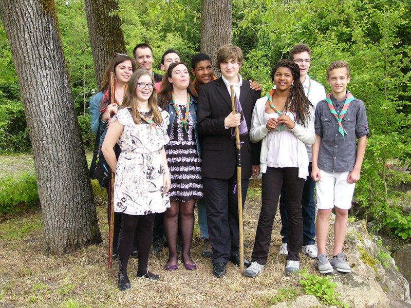 Les scouts le 24 mai 2015